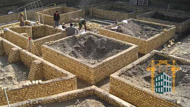 قالب بندی با مصالح بنایی