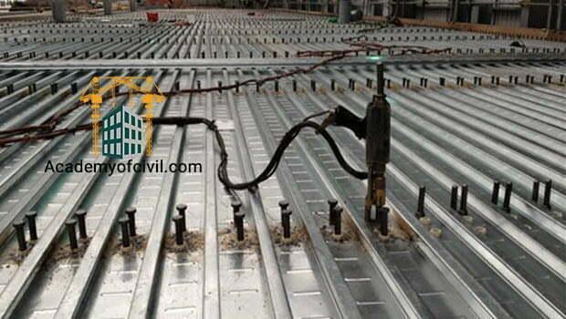 اجزای تشکیل دهنده سقف عرشه فولادی