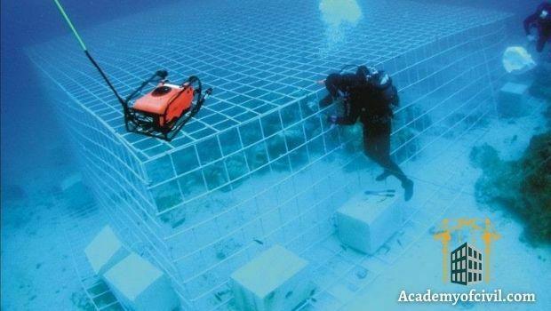 انواع روش های بتن ریزی زیر آب