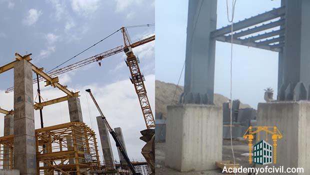 مقایسه اسکلت فلزی و بتنی و ترکیب آن ها سازه بتنی و فولادی