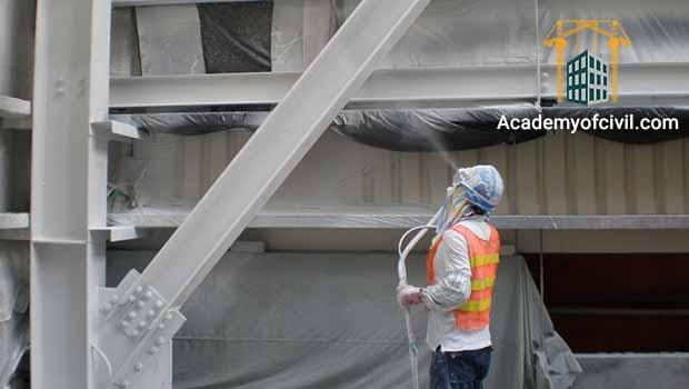 یکی از موارد در مقایسه اسکلت فلزی و بتنی مقاومت بیشتر بتن در برابر حریق است.