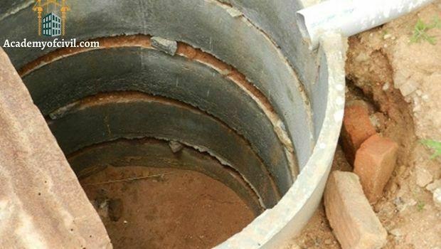 مشخصات چاه جذبی
