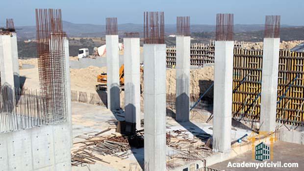 نحوه ساخت ستون بتنی چونه است ؟